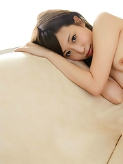 Aya Oshima Showing So Sexy Tits and Leg