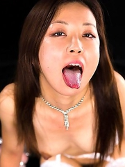 Shizuka Maeshiro is a helpless slut who cant get enough cock.